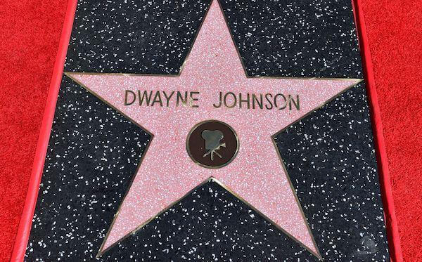 therockgear.com is proud announce that dwayne the rock johnson is a member of the hollywood walk of fame.