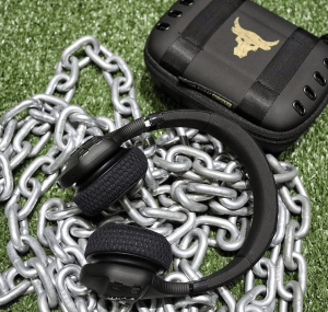 the rock gear has project rock workout headphones available for sale starting june 28, 2018. Be the first to try these wireless headphones!