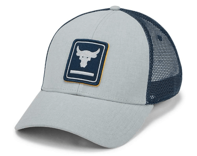 therockgear.com has under armour project rock trucker hats for sale on amazon.com. just click the image to buy now.
